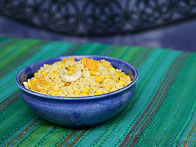Sweetcorn couscous